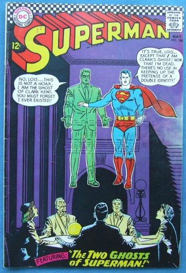 SUPERMAN NO 186 MAY 1966  DC COMICS