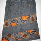 Jeans skirt shorter (o)