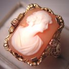 Antique Cameo Ring Vintage