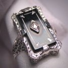 Antique Diamond Ring Vintage Art Deco Victorian Wedding