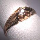 Antique Wedding Ring Mine Cut Diamond Ring Victorian