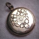 Antique Ornate Gold Locket Victorian Edwardian c.1910 Pendant Necklace