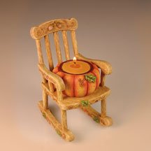 Fall Pumpkin Tealight Chair