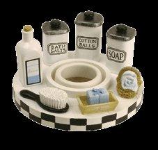 Salle de Bain Jar Candle Capper