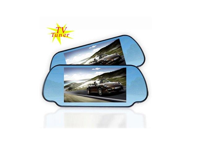 "BACKUP REVERSING 7"" rear veiw mirror LCD with TV"