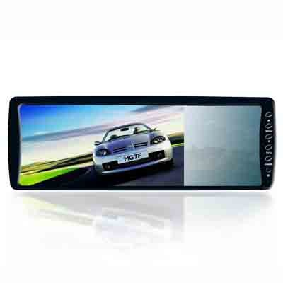 "BACKUP REVERSING 7"" inch; rear view mirror LCD super slim"