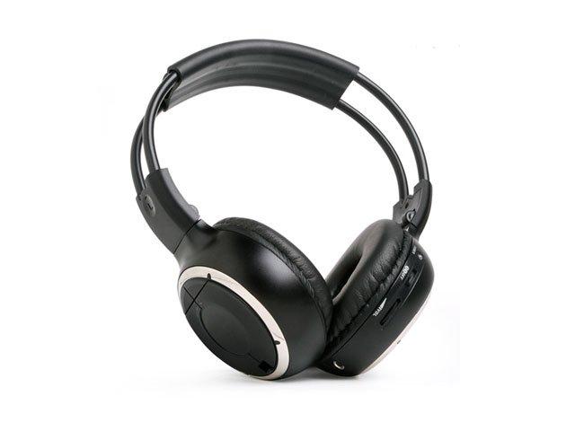 NEW Wireless 2 Channel IR Foldable Headphones