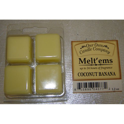 COCONUT BANANA Wax Melt