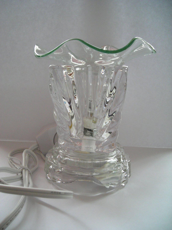 Clear 260 ELECTRIC Wax OIL WARMER Crystal ELECTRIC OIL WARMER
