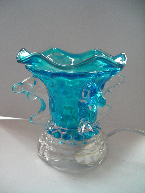 Blue 225 ELECTRIC Wax OIL WARMER Crystal ELECTRIC OIL WARMER