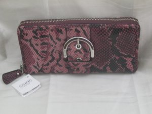 BRAND NEW COACH SOHO EMBOSSED EXOTIC BUCKLE ZIP WALLET - Style 46487