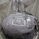 COACH POPPY STORYPATCH COLLECTIBLE XL SPOTLIGHT GRAY BAG 15312