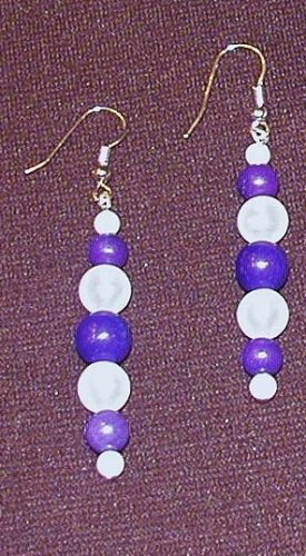 Circles of Hope: Earrings - Long Stacked