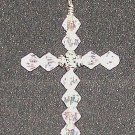 Pale Pink Cross Pendant
