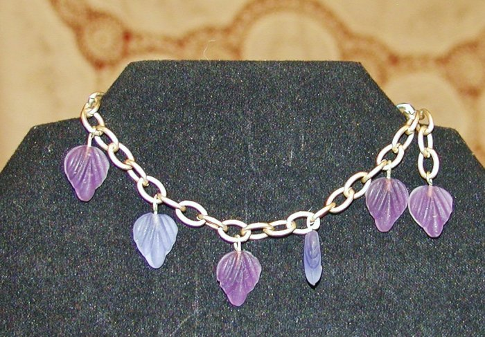 Purple Leaves Bracelet