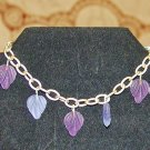Purple Leaves Bracelet