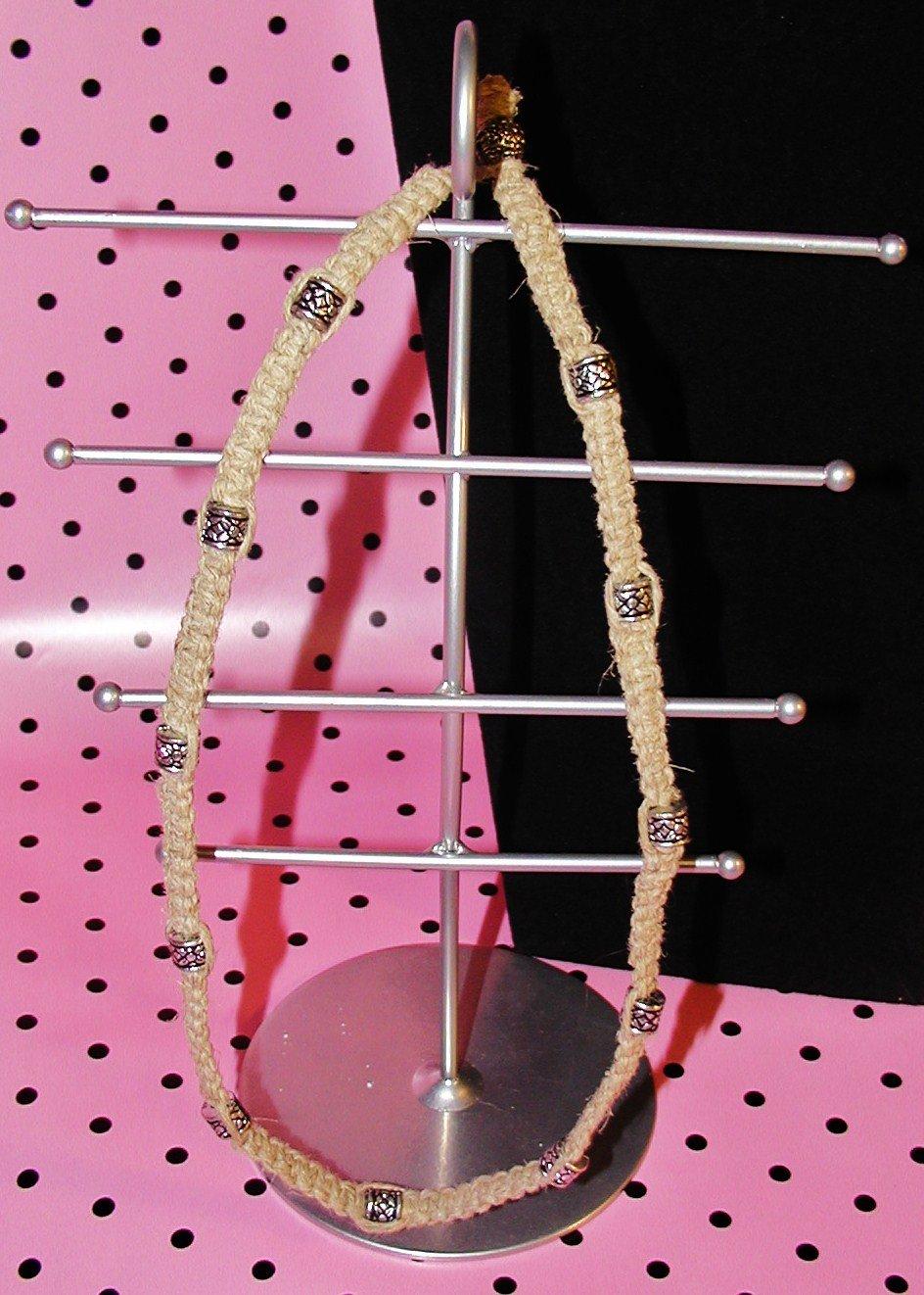 Celtic Silver Hemp Necklace