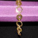 Golden Hoops Bracelet