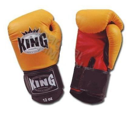 King Professional Boxing Gloves Velcro Ultimate (KBGUV)