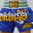 Muay Thai Boxing shorts  (Satin)  TKTBS-037 Panum Rung!!