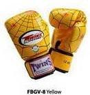 TWINS FANCY GLOVES (FBGV-8) Yellow