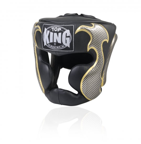 HEAD GUARD FANCY BY TOP KING PROFESSIONAL (TKHGEM-01BK)