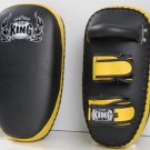 Kicking pads (TK-KPU) Ultimate Straight and Velcro By Top King