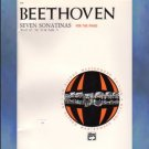 Beethoven Seven Sonatinas For The Piano Maurice Hinson