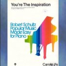 You're The Inspiration Easy Piano Solo Peter Cetera