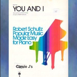 You And I Easy Piano Solo Frank Myers