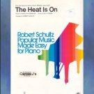 The Heat Is On Easy Piano Solo Beverly Hills Cop