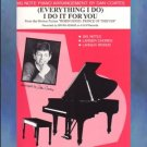 (Everything I Do) I Do It For You Piano Solo Dan Coates Big Note Arrangement