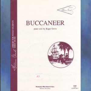 Buccaneer Level 3 Piano Solo Roger Grove