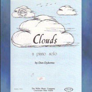 Clouds Early Intermediate Piano Solo Dan Dykema