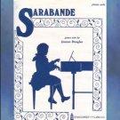 Sarabande Level 3 Piano Solo Jeanne Douglas