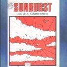 Sunburst Early Intermediate Piano Solo Marjorie Burgess