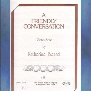 A Friendly Conversation Late Elementary Piano Solo