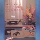 Alfred's Basic Adult Pop Song Piano Book Level 1