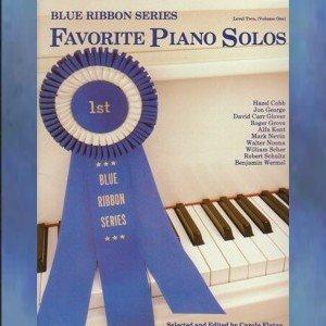 Blue Ribbon Series Favorite Piano Solos Level 2 Volume I