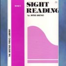 Bastien Piano Library Sight Reading Level 1
