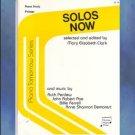 Piano Tomorrow Series Solos Now Mary Elizabeth Clark