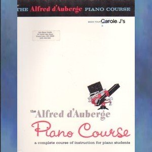 The Alfred d'Auberge Piano Course Lesson Book Book Four