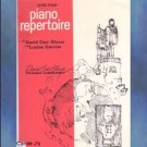 David Carr Glover Piano Library Repertoire Level 4