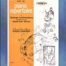 David Carr Glover Piano Library Repertoire Level 6