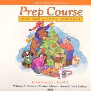 Alfred's Basic Piano Prep Course Christmas Joy Level A