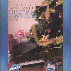 Alfred's Basic Adult Christmas Piano Book Level Two