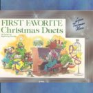 First Favorite Christmas Duets Lynn Freeman Olson