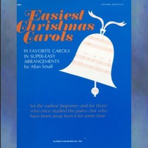 Easiest Christmas Carols Super Easy Solo Piano