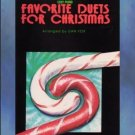 Favorite Duets For Christmas Easy Piano Duets Dan Fox