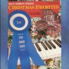 Blue Ribbon Series Christmas Favorites Level Three Piano
